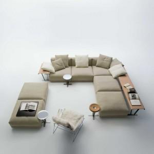 Divani componibili design divano componibile imbottito - Divano luis b b ...