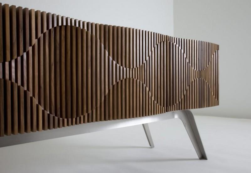 La Credenza Mobile : Credenza glissando by jon goulder quando i mobili diventano