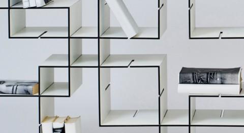 Libreria componibile: KONNEX by Florian Gross « Architettura Blog Arredamento e Design Blog