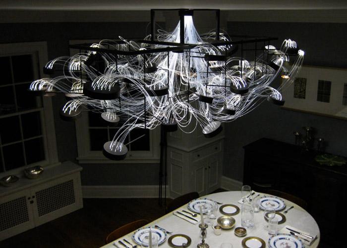 idea lampadari : lampadario bacteriopica basta il nome per dire tutto e il lampadario ...