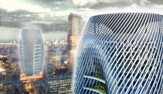 Rain Collector Skyscrape