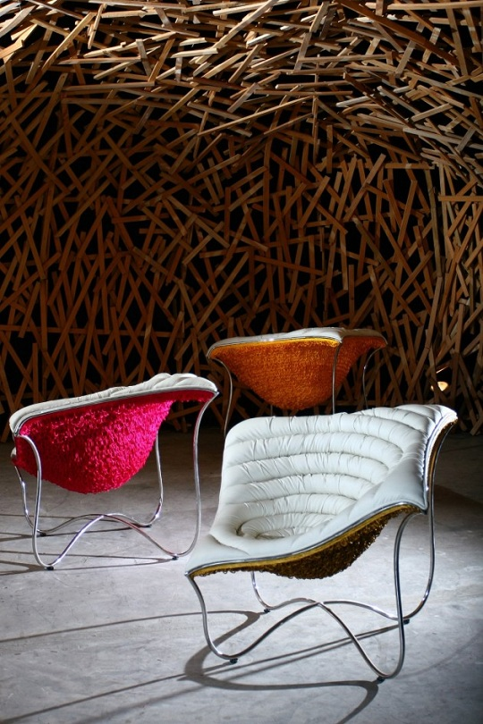 sedia design paisley chair