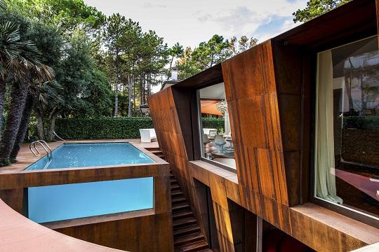 architettura casa al mare
