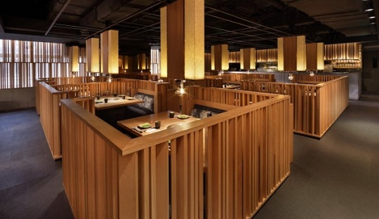 design ristorante giapponese « architettura blog arredamento e ... - Arredamento Design Ristorante