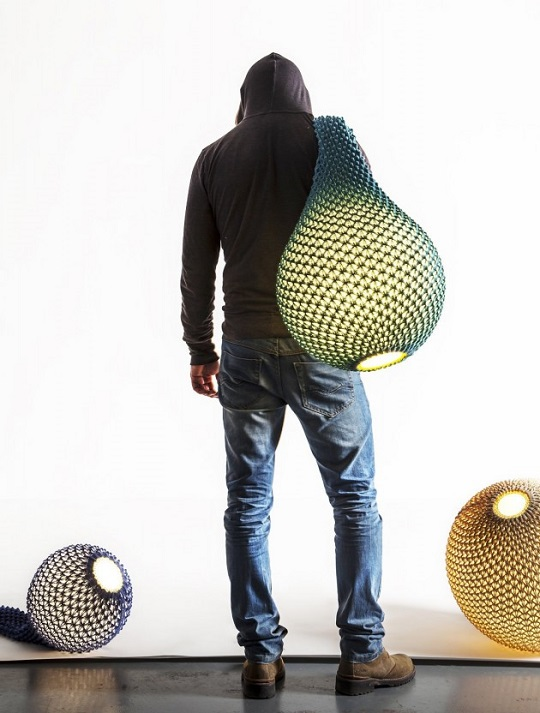 Lampada Design Knitted