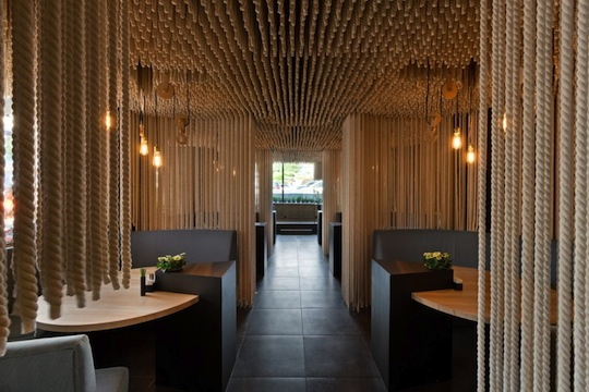 Design Per Ristoranti : Iarchitects interior design per il ristorante pcube