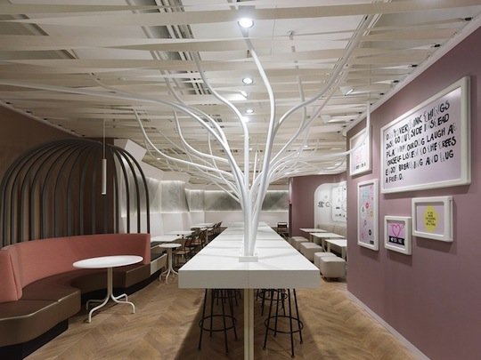 ristorante ?not guilty? a zurigo by ippolito fleitz: un piccolo ... - Arredamento Design Ristorante